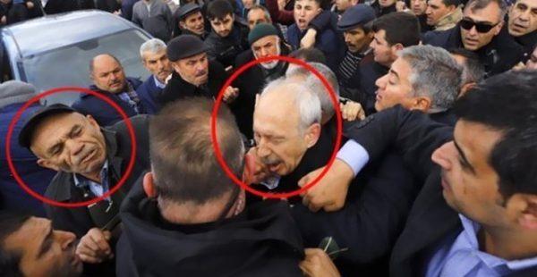 Kılıçdaroğlu'na yumruk atan zanlı gözaltına alındı