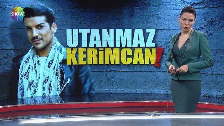 Show TV Ana Haber Sunucusu Ece Üner'in Kerimcan Durmaz tepkisi olay oldu