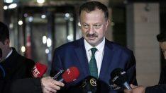 AK Parti YSK Temsilcisi Recep Özel açıkladı: Mazbatanın iptali kararı da çıktı
