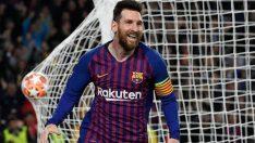 Barcelona, Liverpool'u Messi'yle yıktı!