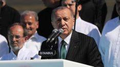 Cumhurbaşkanı Erdoğan: İstanbul sevdalıları için koltukların hiçbir kıymeti yoktur
