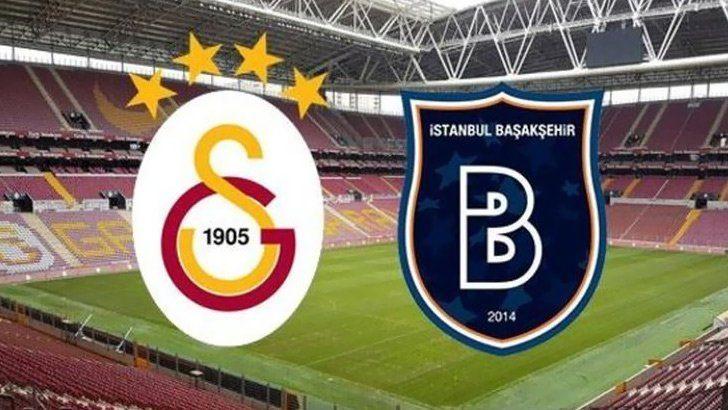 Galatasaray – Başakşehir maçı ne zaman, saat kaçta, hangi kanalda canlı yayınlanacak?