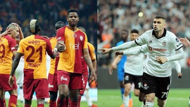 Galatasaray – Beşiktaş derbisinin muhtemel 11'leri