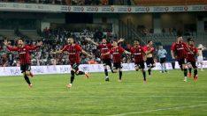 Gaziantep'te Süper Lig coşkusu! Gazişehir Gaziantep, Süper Lig'e yükseldi