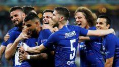 UEFA Avrupa Ligi şampiyonu Chelsea oldu