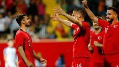 Milli Takım Özbekistan'ı 2 golle geçti!