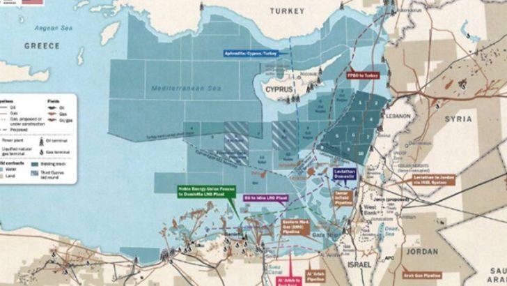 Türkiye o oyunu bozdu! Beyaz Saray'da asılı Doğu Akdeniz haritası