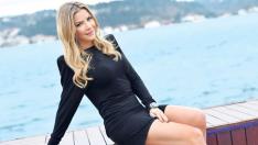 Ivana Sert'ten bikinili hodri meydan