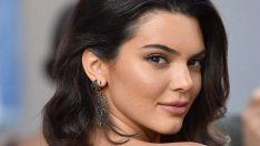 Kendall Jenner üstsüz pozu ile konuşuluyor!