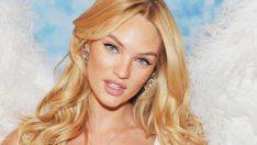 Ünlü top model Candice Swanepoel siyah saçlarıyla şoke etti!