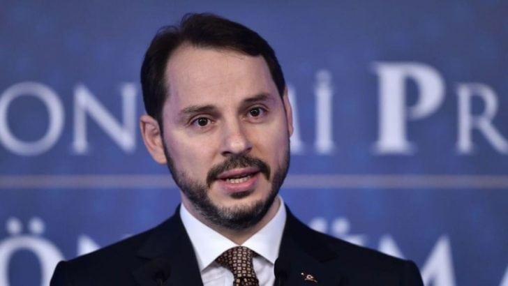 Hazine ve Maliye Bakanı Berat Albayrak'a destek yağdı
