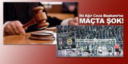 İki hakime Beşiktaş-Fenerbahçe maçında şok!