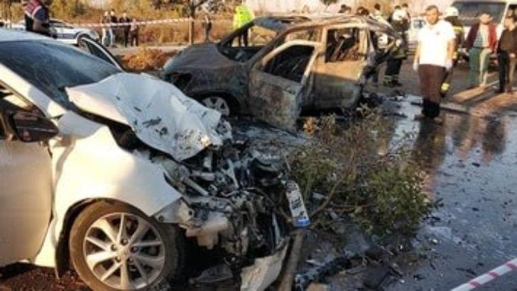Samsun Savcısı kaza geçirdi, küçük kızı hayatını kaybetti