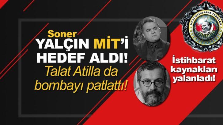 """""""Soner Yalçın Sözcü'yü ele geçirmeye çalışıyor!"""" Talat Atilla ve Soner Yalçın birbirine girdi"""