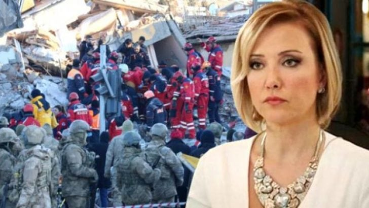 Berna Laçin'in deprem provokasyonuna soruşturma!