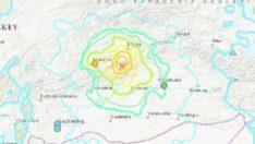 Elazığ'daki depremle ilgili ABD'den korkutan harita!