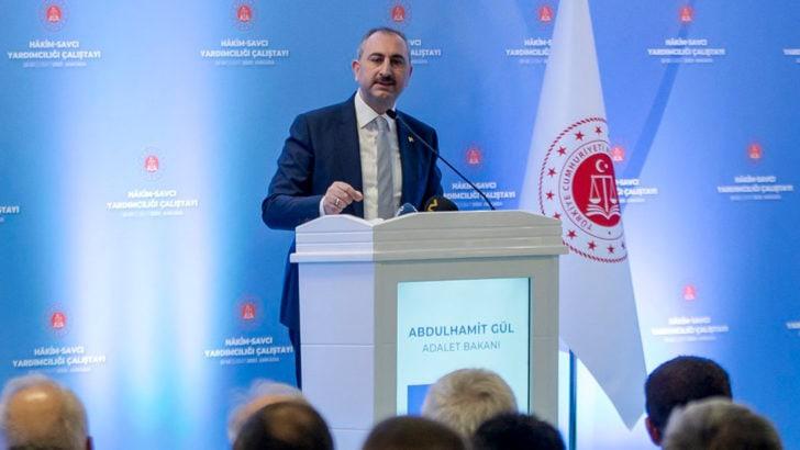Adalet Bakanı Abdulhamit Gül'den Hakim ve Savcı Yardımcılığı Çalıştayı'nda önemli açıklamalar