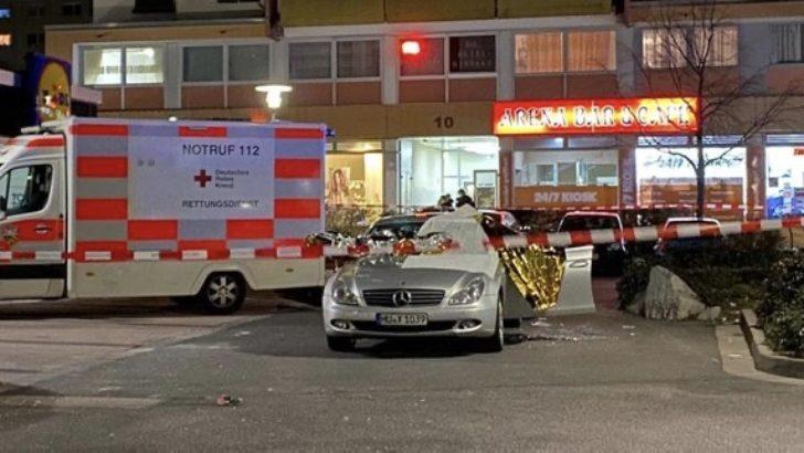 Almanya'da silahlı saldırı! 5'i Türk 10 kişi öldü