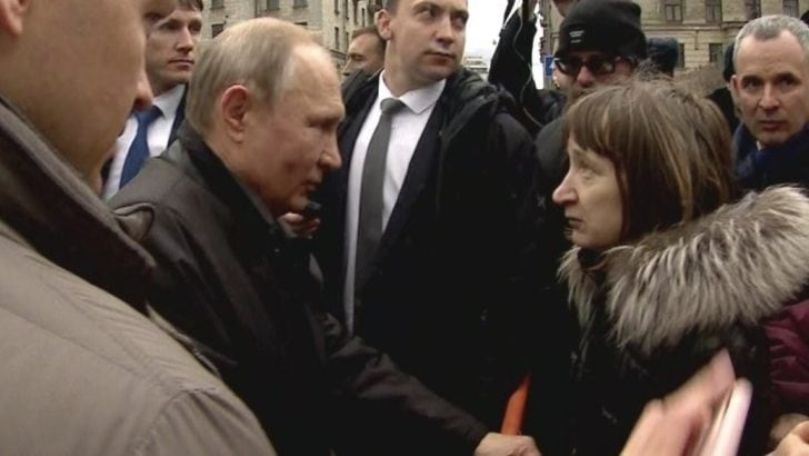 Putin'e zor 'emekli maaşı' sorusu
