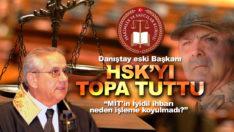 Danıştay eski Başkanı Nuri Alan HSK'yı topa tuttu!