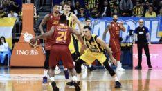 Galatasaray bu kez Basketbol'da Fenerbahçe'yi yendi
