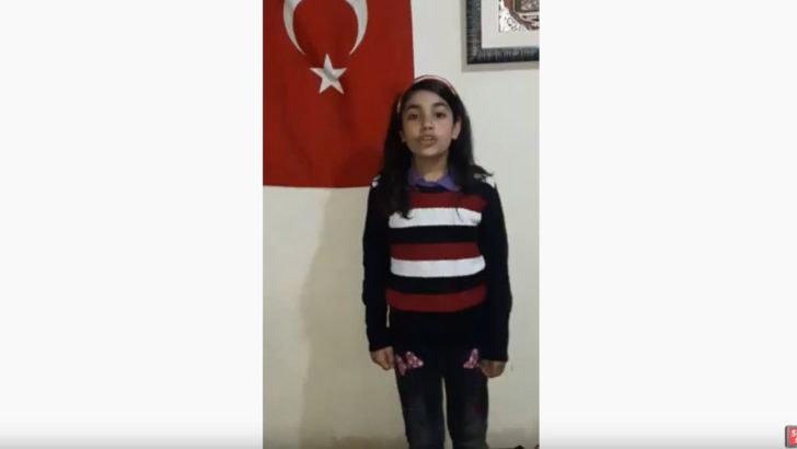 İstiklal Marşı okurken ağladı, Türkiye'yi duygulandırdı!