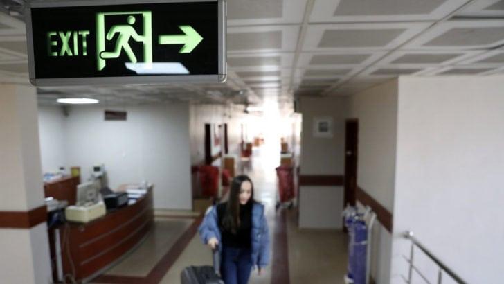 Vuhan'dan getirilen 42 kişinin karantina süreci bitti
