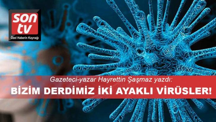 Gazeteci Hayrettin Şaşmaz analiz etti: Kadrolu virüsler!