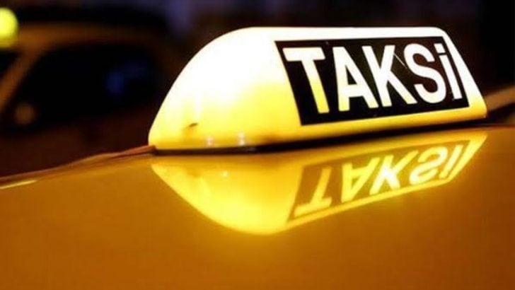 Taksi şoförüne kabusu yaşattı!