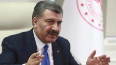 Sağlık Bakanı Koca'dan sevindiren açıklama: İyileşen vakalar var