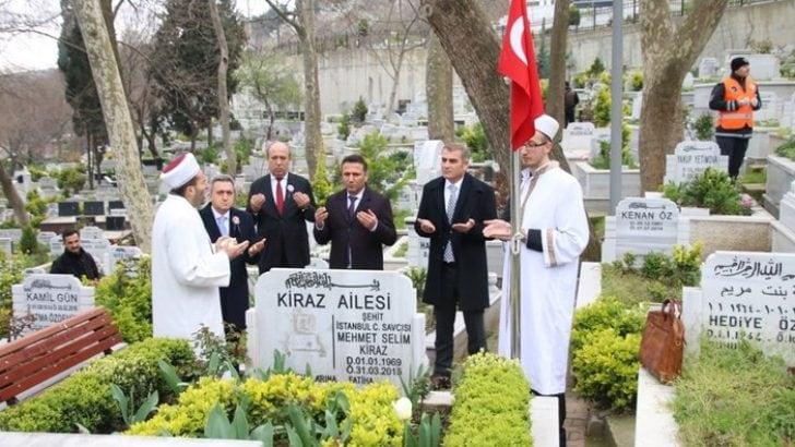 Şehit savcı Mehmet Selim Kiraz dualarla anıldı