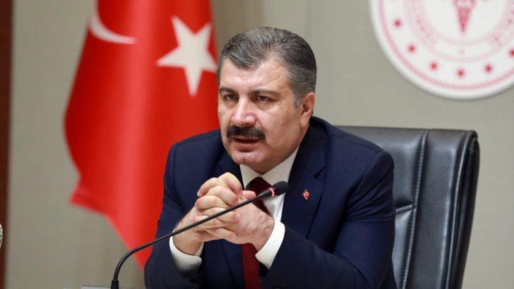 Bakan Fahrettin Koca vakaları açıkladı