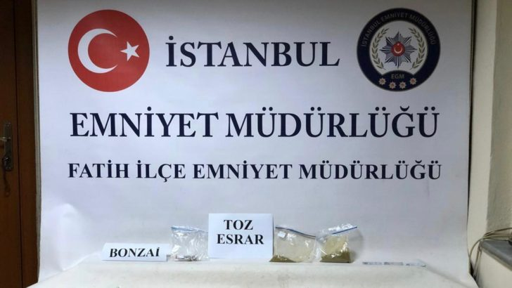 İstanbul Emniyeti'nden uyuşturucu operasyonu