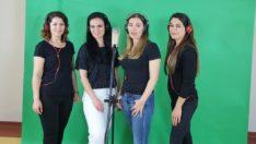 Öğretmenlerden 23 Nisan'a özel rap müzik! 'As bayrağını cama'