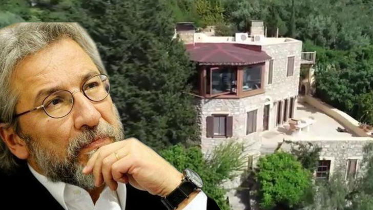 Can Dündar'ın 150 bin lira ceza kesilen villası yıkılıyor