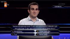 Görme engelli Mustafa, Kim Milyoner Olmak İster'e damga vurdu