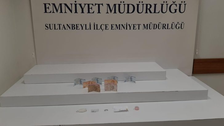 İstanbul Sultanbeyli'de uyuşturucu operasyonu
