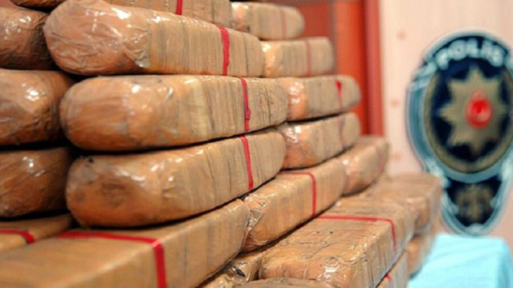 6 ayda 26 ton uyuşturucu madde ele geçirildi