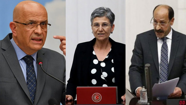 Enis Berberoğlu, Leyla Güven ve Musa Farisoğulları tutuklandı