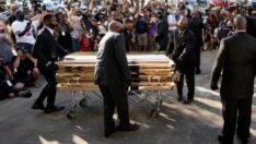 George Floyd'un için 3 cenaze töreni, 1 altın tabut