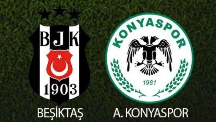 Beşiktaş – Konyaspor: 3-0