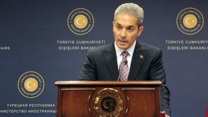 Irak'ın skandal iddialarına Dışişleri Bakanlığı'ndan yanıt