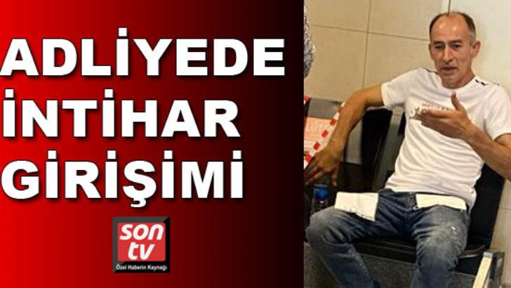 İstanbul Adliyesi'nde intihar girişimi