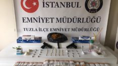 İstanbul Tuzla'da suç makinası yakalandı