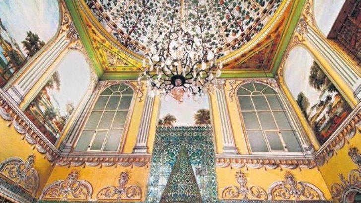 Topkapı Sarayı'ndaki Valide Sultan Dairesi'nde restorasyon rezaleti