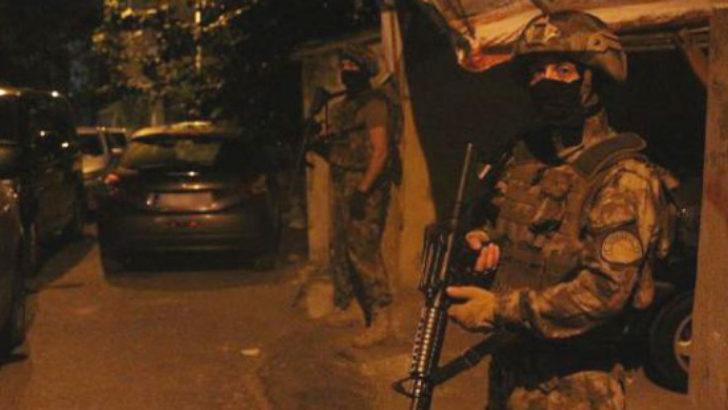 İstanbul'daki terör yuvalarına gece operasyonu