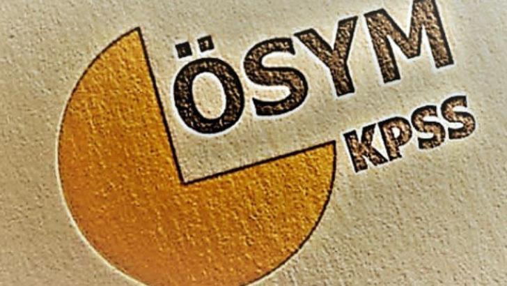 KPSS tercih tarihleri açıklandı