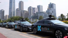 Çin'de robot taksiler trafiğe çıkacak