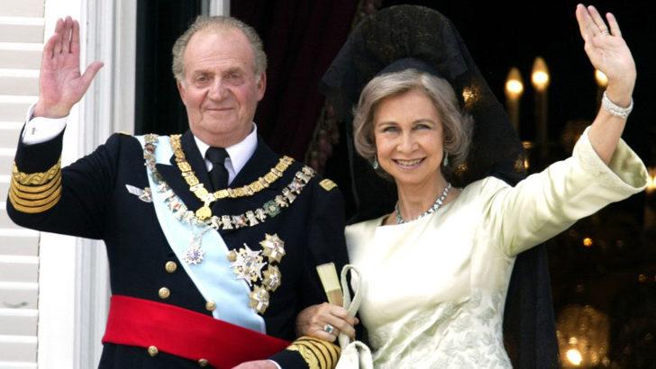 Eski İspanya Kralı İspanya'yı terk ediyor