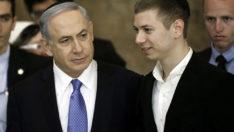 Netanyahu'nun oğlu, göstericileri uzaylılara benzetti